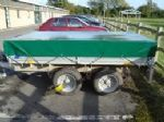Green Trailer Cover - 1280mm x 810mm x 400mm